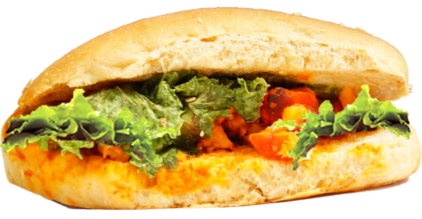 Tandoori Paneer On Brown Roll